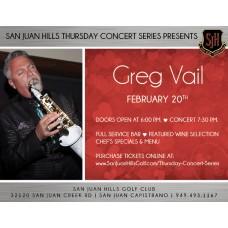 Greg Vail - Feb 20th, 2020